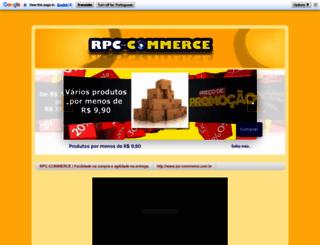 blog.rpc-commerce.com.br screenshot