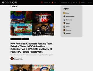 blog.rpgmakerweb.com screenshot