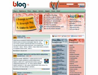 blog.rs screenshot