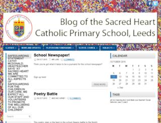 blog.sacredheartleeds.org.uk screenshot