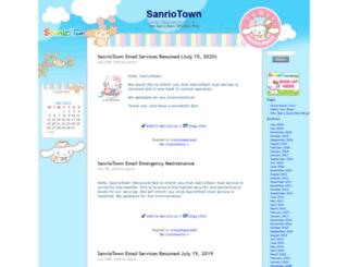 blog.sanriotown.com screenshot