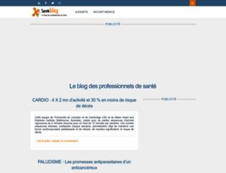 blog.santelog.com screenshot
