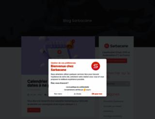 blog.sarbacane.com screenshot
