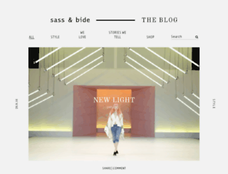 blog.sassandbide.com screenshot