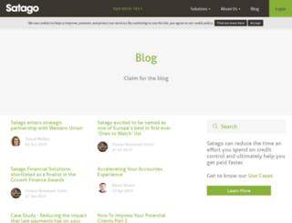 blog.satago.co.uk screenshot