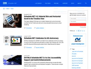 blog.scheduler-net.com screenshot