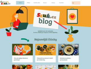 blog.scuk.cz screenshot