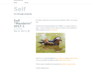 blog.selflanguage.org screenshot