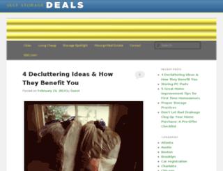 blog.selfstoragedeals.com screenshot