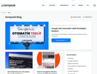 blog.sempeak.com screenshot