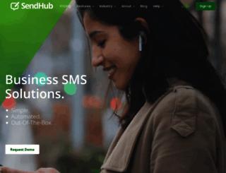 blog.sendhub.com screenshot