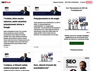 blog.seo-profi.pl screenshot