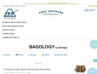 blog.serbags.com screenshot