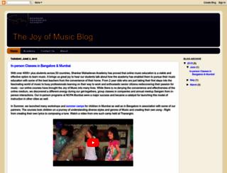 blog.shankarmahadevanacademy.com screenshot