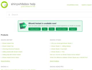 blog.shinywhitebox.com screenshot