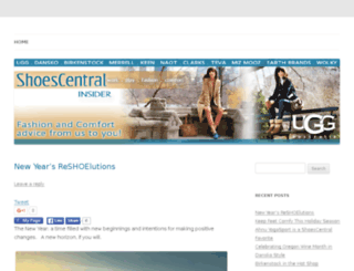blog.shoescentral.com screenshot