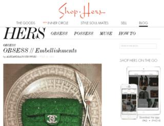 blog.shop-hers.com screenshot