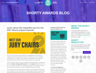 blog.shortyawards.com screenshot