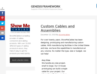 blog.showmecables.com screenshot