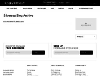blog.silversea.com screenshot