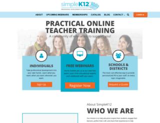 blog.simplek12.com screenshot