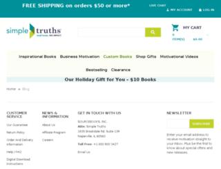 blog.simpletruths.com screenshot