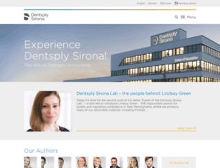 blog.sirona.com screenshot