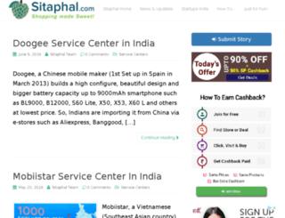 blog.sitaphal.com screenshot