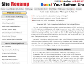 blog.siterevamp.com screenshot