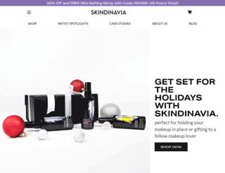 blog.skindinavia.com screenshot