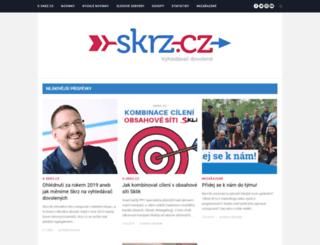 blog.skrz.cz screenshot