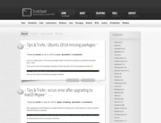 blog.skufel.net screenshot