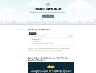 blog.skylight.io screenshot