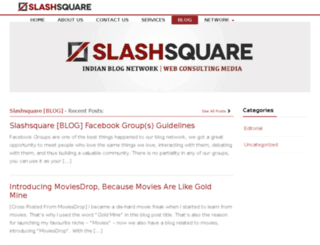 blog.slashsquare.org screenshot