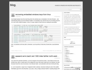 blog.slowbro.org screenshot