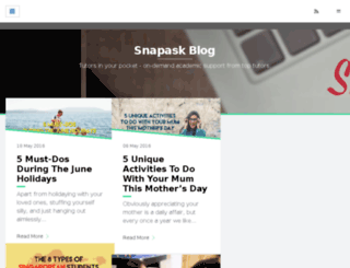 blog.snapask.co screenshot