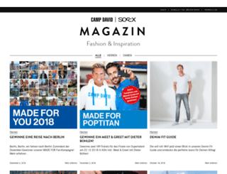 blog.soccx.de screenshot