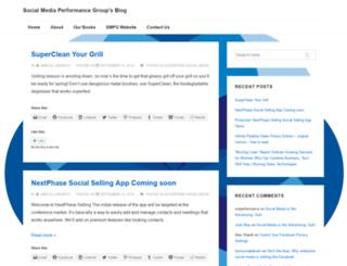 blog.socialmediaperformancegroup.com screenshot