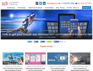 blog.softwaredevelopersindia.com screenshot