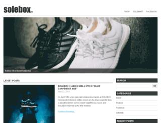 blog.solebox.de screenshot