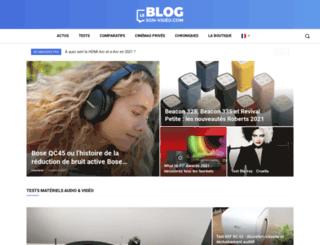 blog.son-video.com screenshot