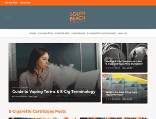 blog.southbeachsmoke.com screenshot
