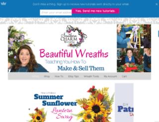 blog.southerncharmwreaths.com screenshot