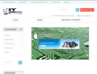 blog.spareworks.com screenshot