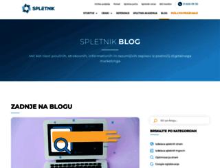 blog.spletnik.si screenshot