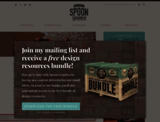 blog.spoongraphics.co.uk screenshot