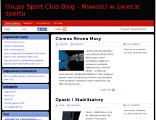 blog.sportclub.com.pl screenshot