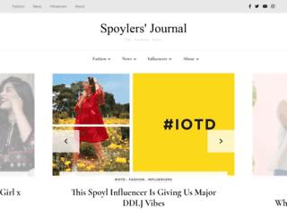 blog.spoyl.in screenshot