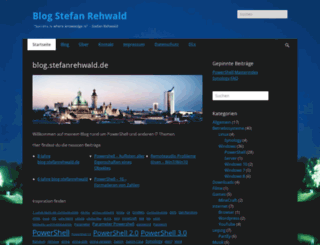 blog.stefanrehwald.de screenshot