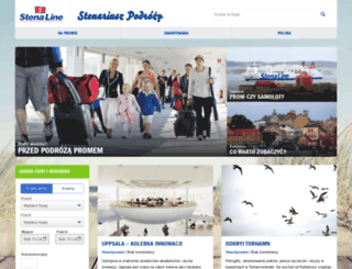 blog.stenaline.pl screenshot
